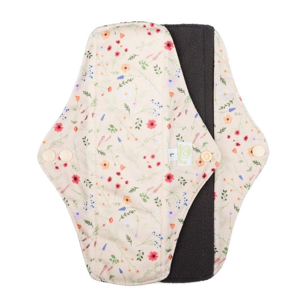 Baba and Boo large cloth sanitary pad wildflowers