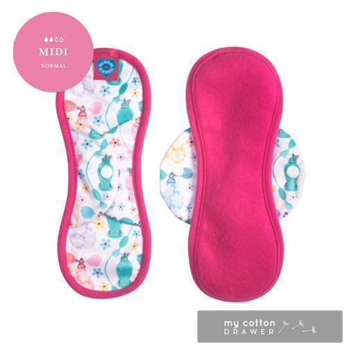 Bloom and Nora reusable cloth sanitary pad eco friendly