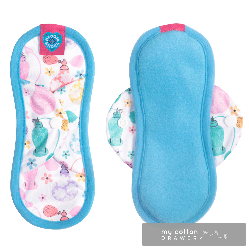 Bloom and Nora reusable cloth sanitary pads