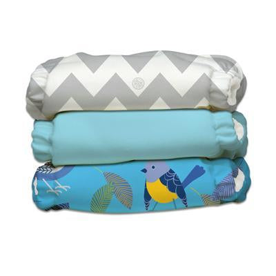 Charlie Banana - 3 pack Pocket Cloth Nappy Set - Little Twitter