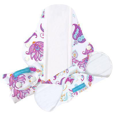 Charlie Banana reusable cloth sanitary pad super plus cotton bliss