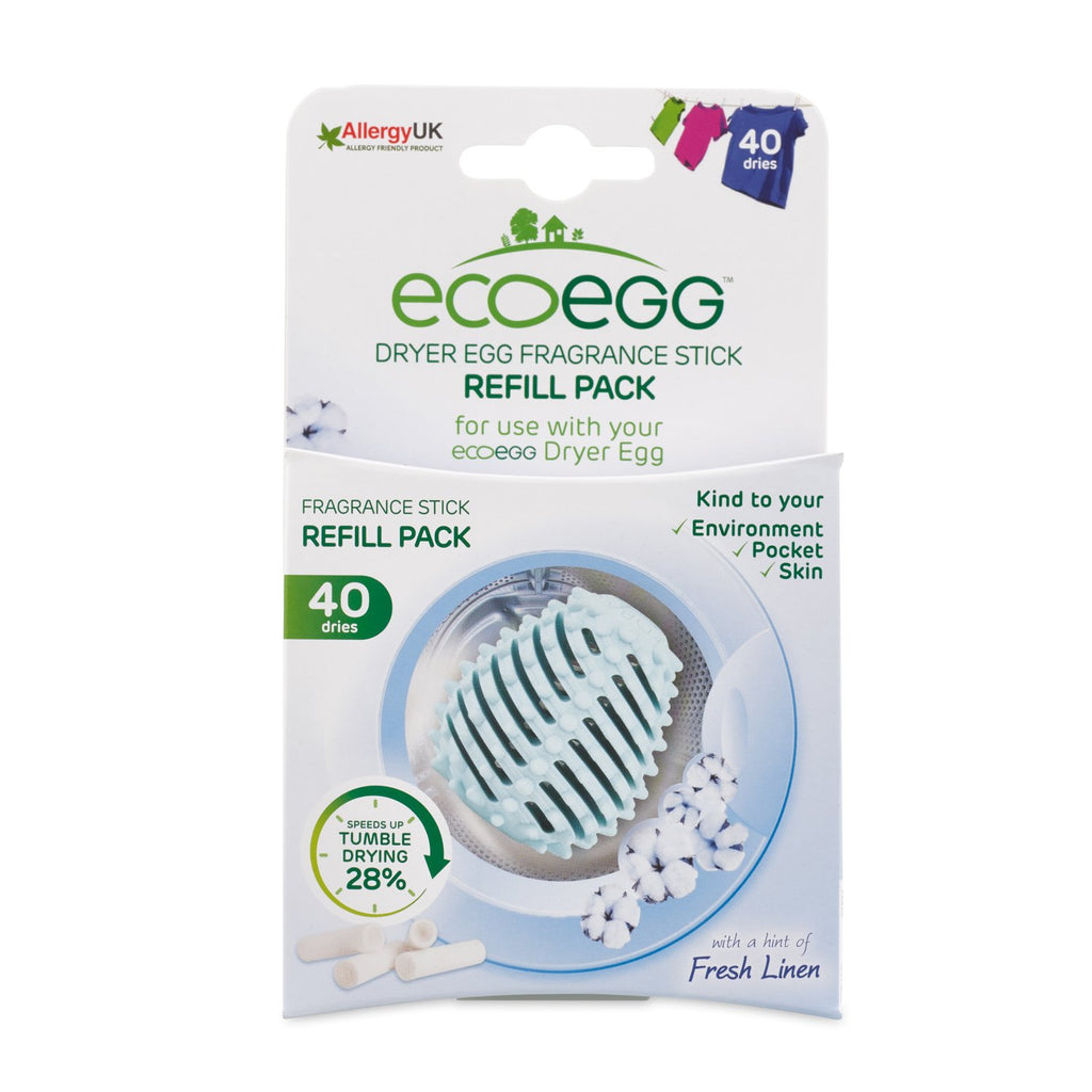 Eco Egg Dryer Fragrance stick refills FRESH LINEN
