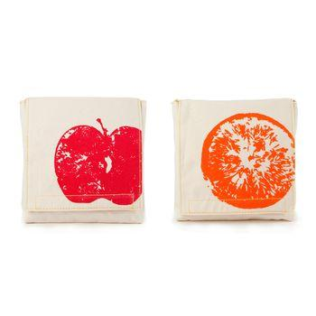 Fluf Snack 2 Pack - Apple & Orange