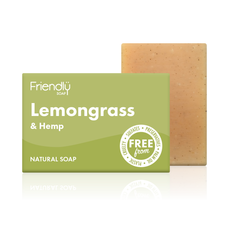 Friendly Lemongrass Natural Soap