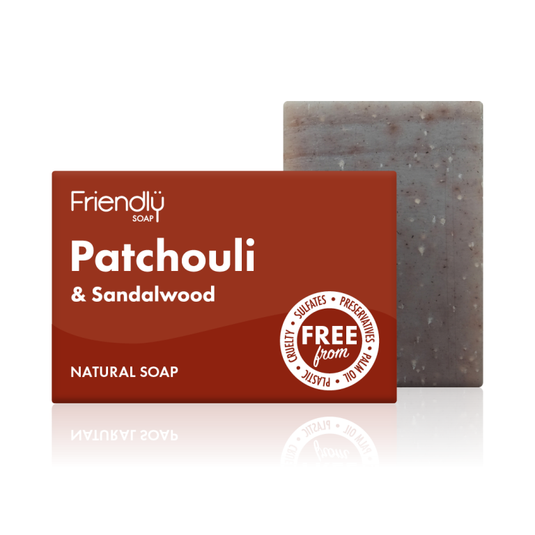 Friendly Patchouli Natural Soap