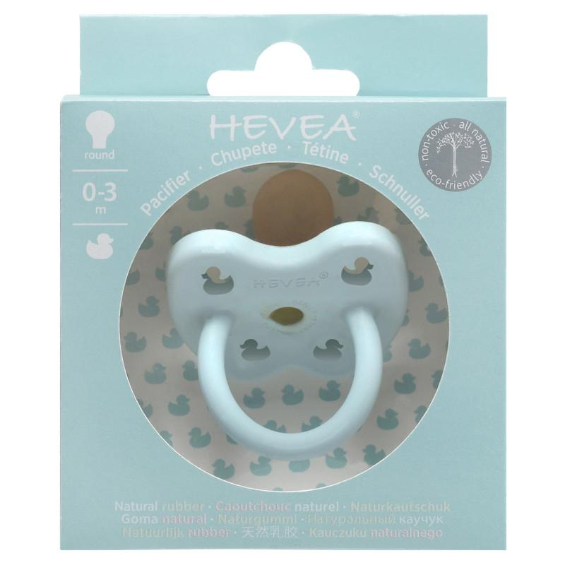 Hevea - Pacifier - Baby Blue (0-3 months)