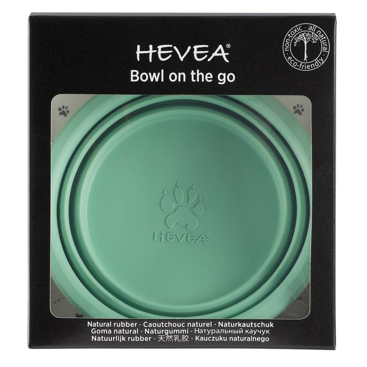 Hevea - Puppy - Bowl on the Go - Mint