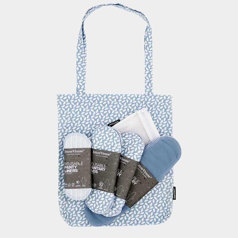 Imse Vimse Cloth Sanitary Pad Starter Kit - Denim