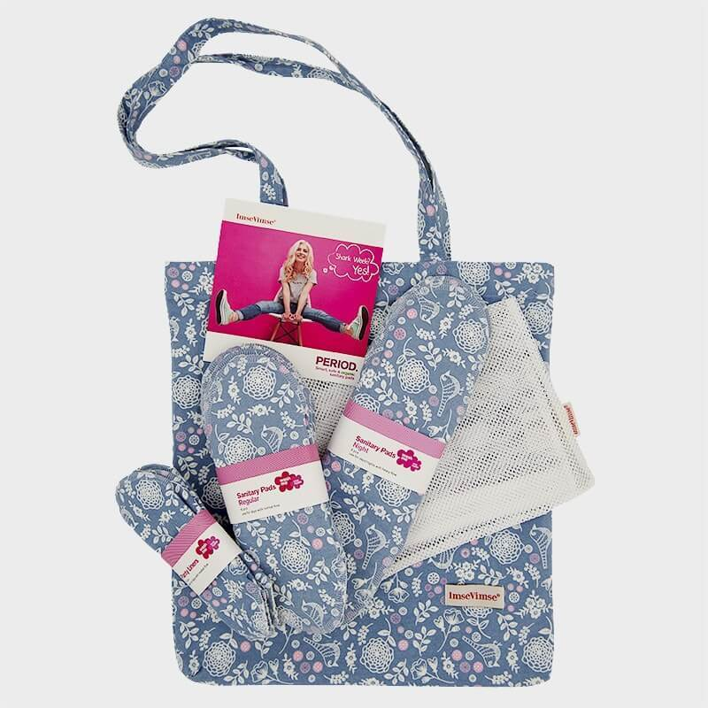 Imse Vimse Cloth Sanitary Pad Starter Kit - Garden