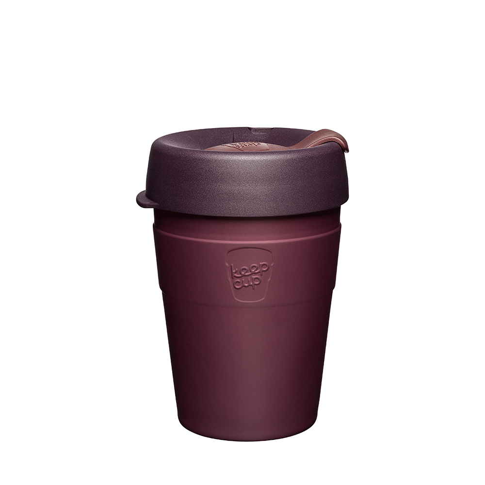 Keepcup thermal 12oz insulated steel coffee cup