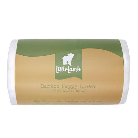 little lamb disposable bamboo nappy liner