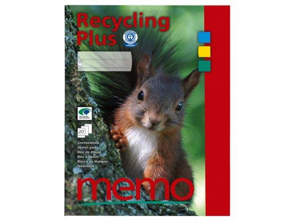 MEMO A4 Recycling Plus Drawing Pad
