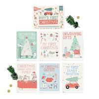 Milestone Cards - First Special Moments - Christmas