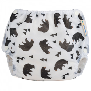 Motherease airflow cloth nappy cover Small bears