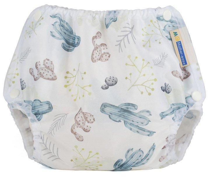 Motherease airflow cloth nappy cover Small cactus