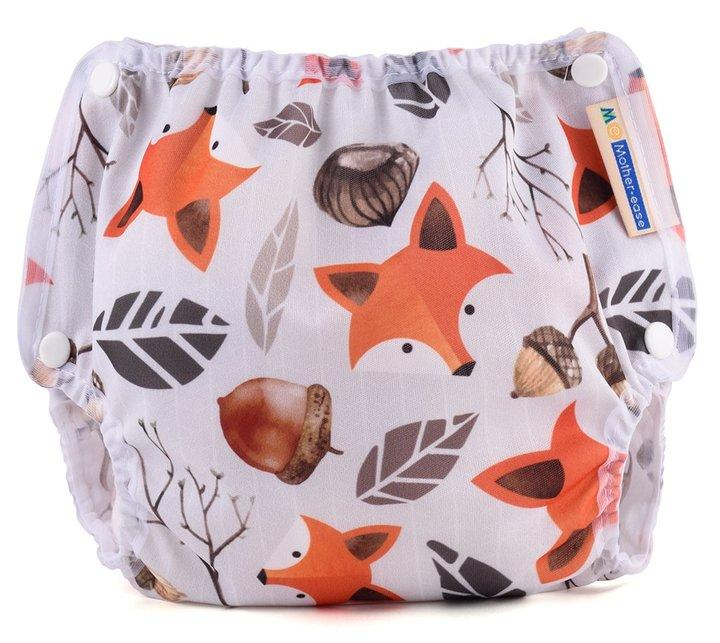 Motherease airflow cloth nappy cover Small foxy