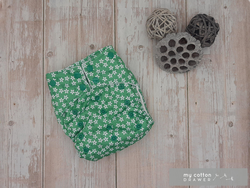 My Cotton Drawer - Bamboo Pocket Cloth Nappy - Burren
