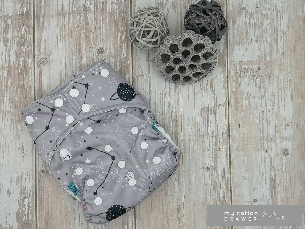My Cotton Drawer - Bamboo Pocket Cloth Nappy - Ninth Planet