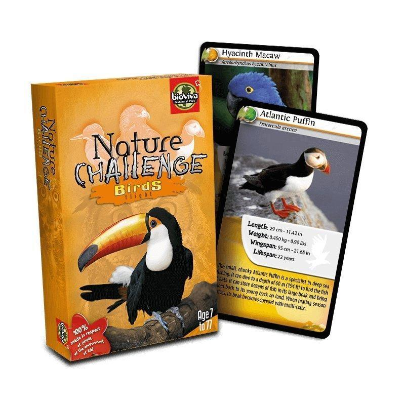 Nature Challenge - Birds! A group card game for ages 7+