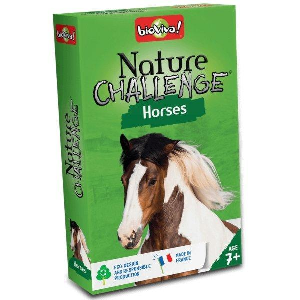 Nature Challenge - Horses! A group card game for ages 7+