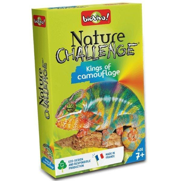 Nature Challenge - Kings of Camouflage! A group card game for ages 7+