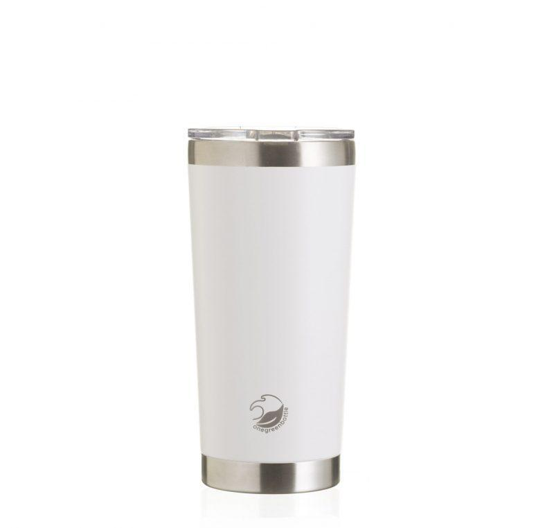 One Green Bottle - Thermal mug 500ml White