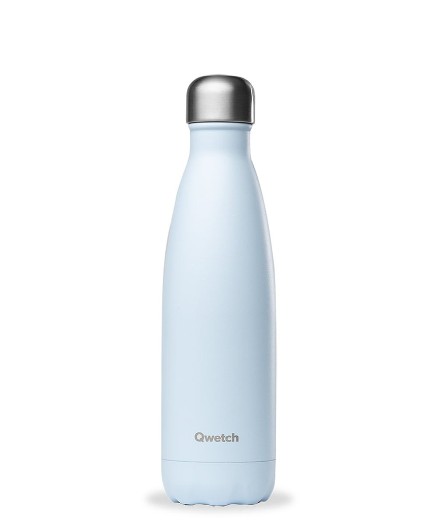 Qwetch 500ml insulated steel bottle - Pastel Blue