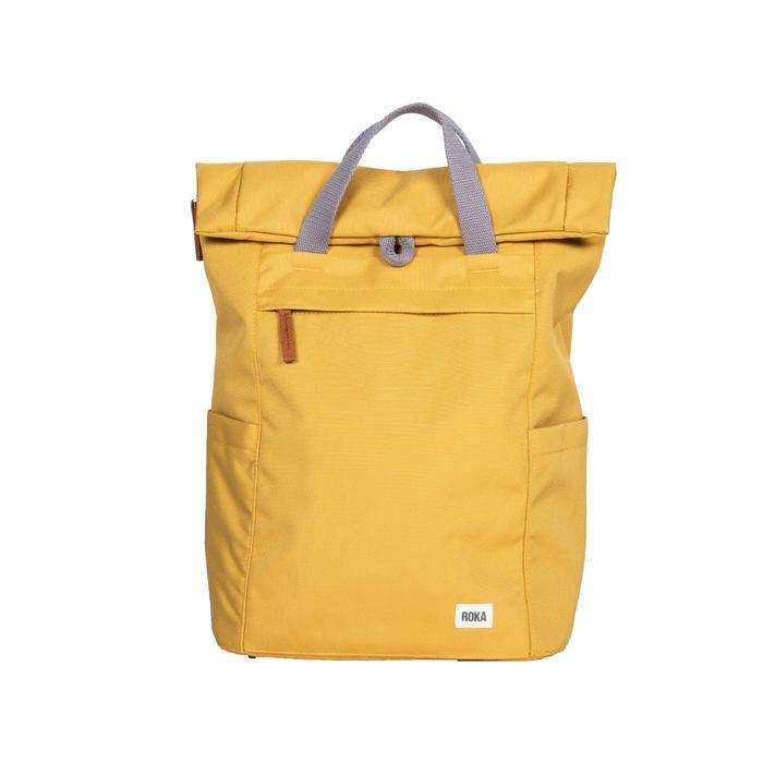 Roka London Sustainable Finchley bag backpack flax