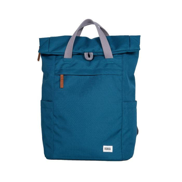 Roka London Sustainable Finchley bag backpack marine