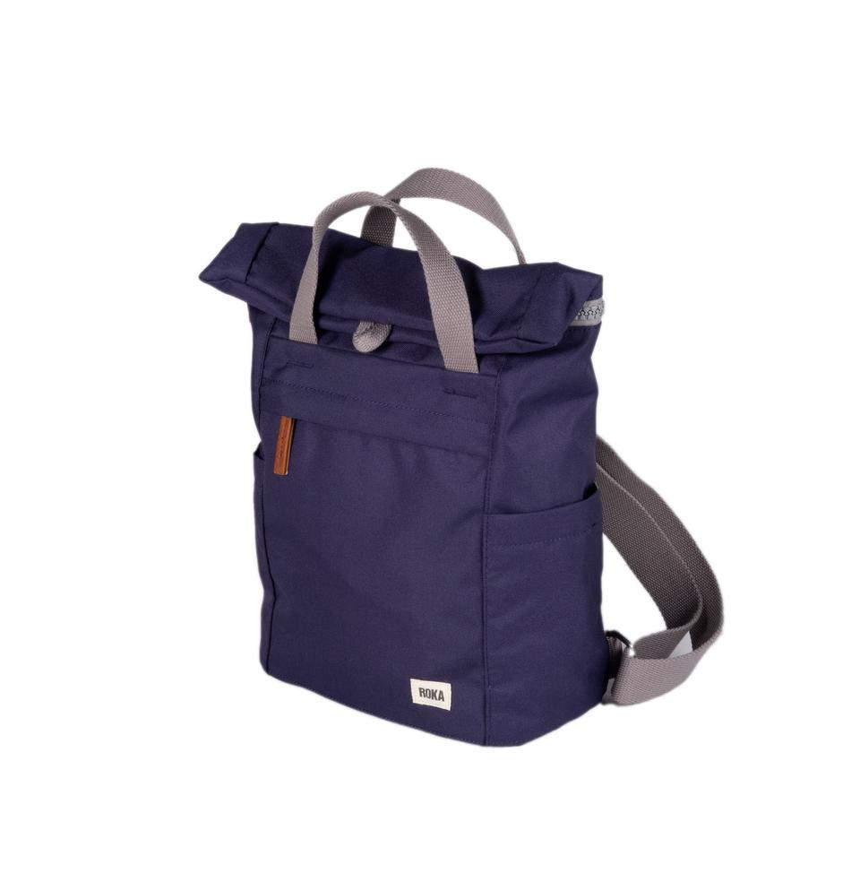 Roka London Sustainable Finchley bag backpack ocean