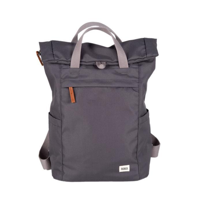 Roka London - Sustainable Finchley Bag Small Carbon