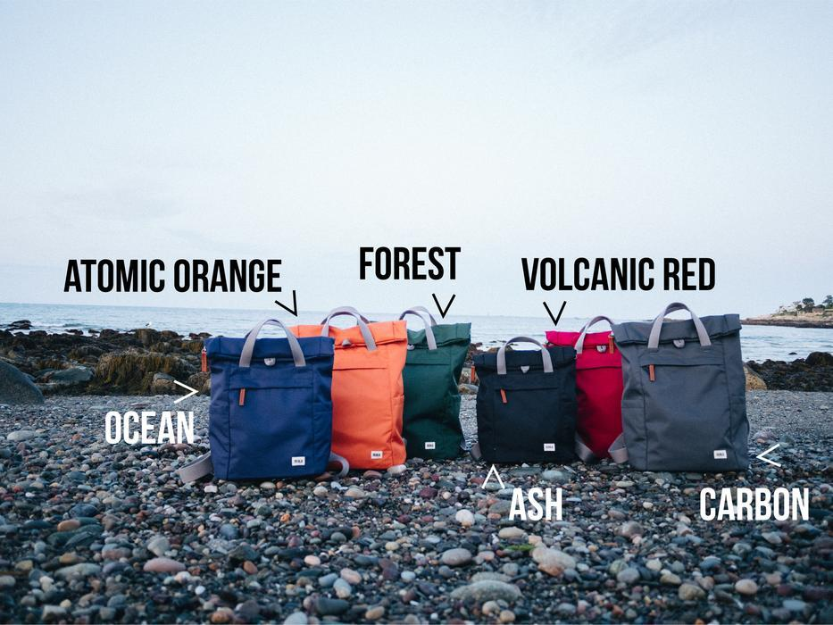 Roka London Sustainable Finchley bag backpack colours