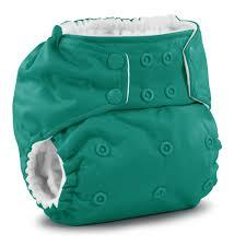 Rumparooz reusable pocket cloth nappy Green