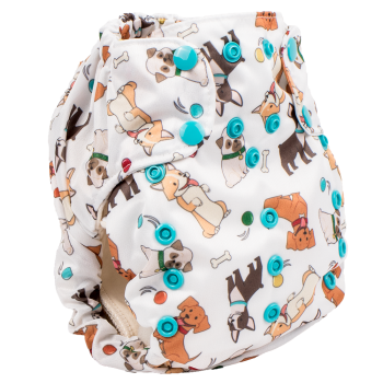 Smart bottoms 3.1 organic cotton cloth nappy Fido