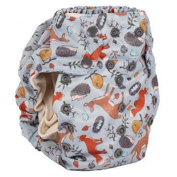 Smart bottoms 3.1 organic cotton cloth nappy forest friends