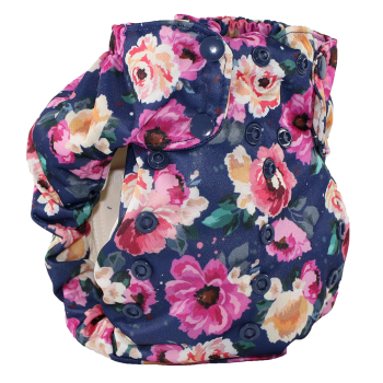 Smart bottoms 3.1 organic cotton cloth nappy Petit bouquet