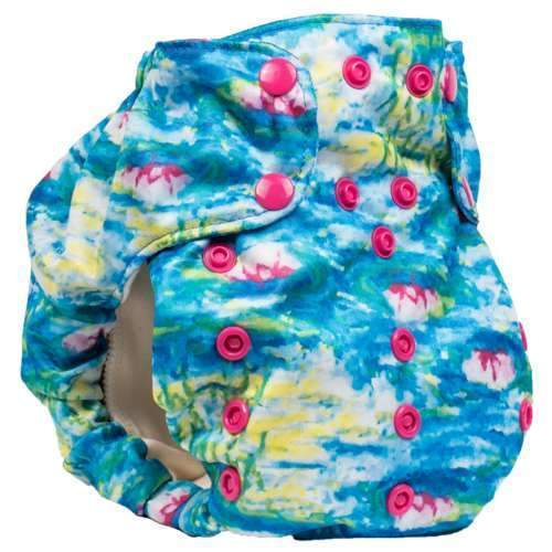 Smart bottoms 3.1 organic cotton cloth nappy waterlillies