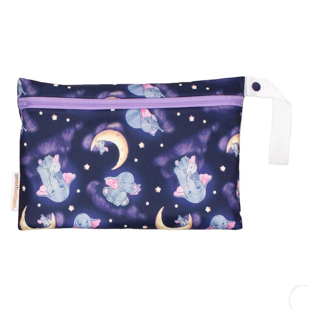 Smart bottoms small wet bag for Cloth nappies baby of mine