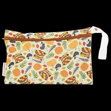 Smart bottoms small wet bag for Cloth nappies harvest