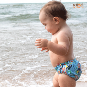 Smart Bottoms Swim Diaper 2.0 - Medium