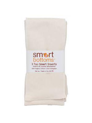 Smart Bottoms - Too Smart Organic Cotton Inserts 3pk