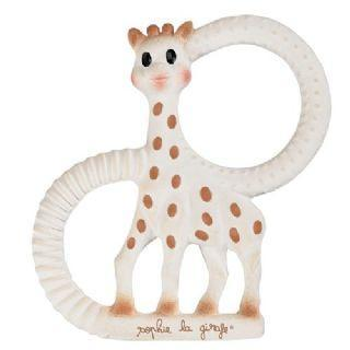 Sophie the Giraffe - So Pure Soft Teething ring