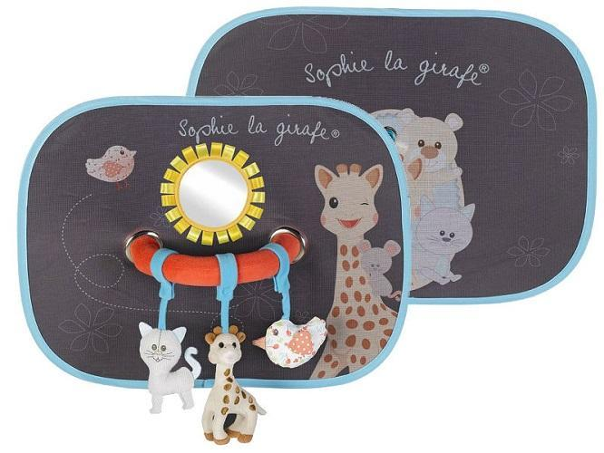 Sophie the Giraffe - Sunshades with Play Arch