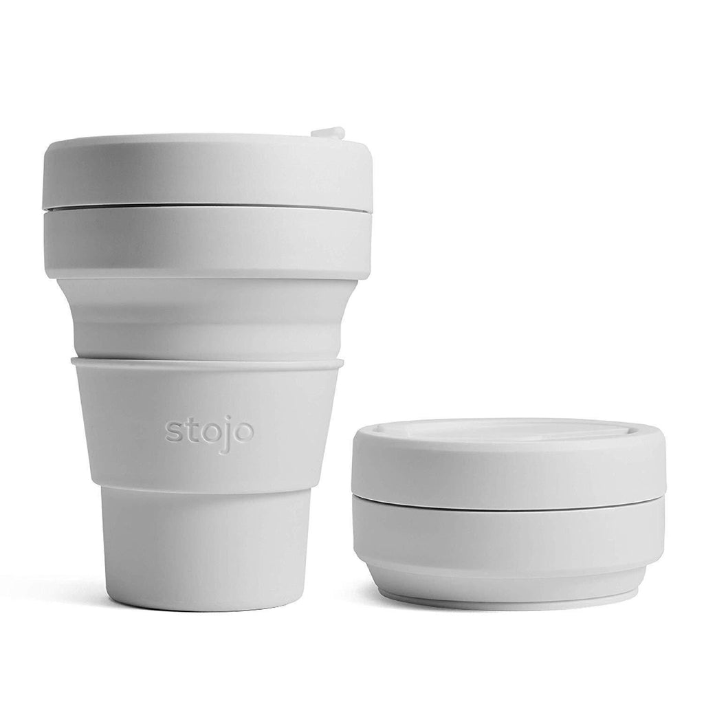 Stojo collapsible coffee cup cashmere