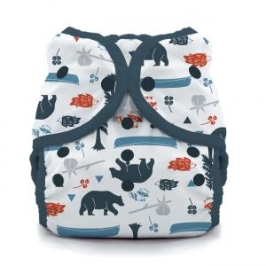 Thirsties reusable cloth nappy cover wrap adventure trail