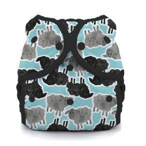 Thirsties reusable cloth nappy cover wrap counting sheep