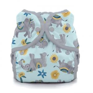 Thirsties reusable cloth nappy cover wrap Elefantabulous
