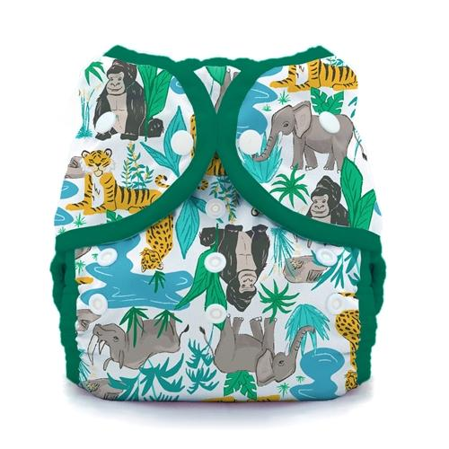 Thirsties reusable cloth nappy cover wrap endangered
