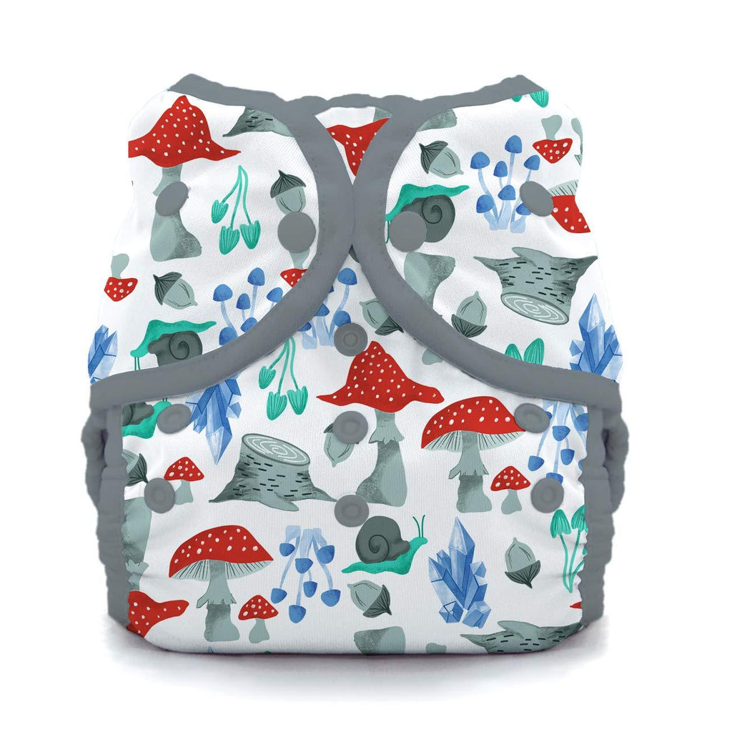 Thirsties reusable cloth nappy cover wrap Forest