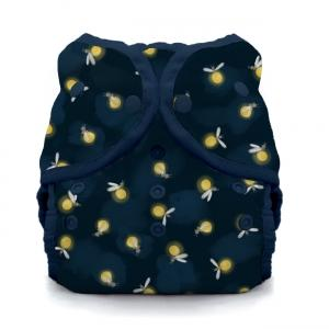 Thirsties reusable cloth nappy cover wrap Lightening bug